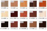 4 matériaux de construction de panneau de mélamine de panneau de particules de noix de ' x 8 ' pour des meubles de cuisine (personnalisés)