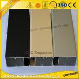 Perfil de aluminio de la electroforesis de la extinción 6063 con la ventana de desplazamiento de aluminio