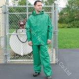 PE van Yellow&Green Gebruik van de Stof 80~90g van de Laminering het Niet-geweven voor Chemische Pretective globaal