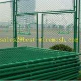 Загородка звена цепи звена цепи Fencing/PVC стадиона баскетбола Coated