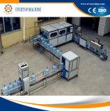 Linha de produção tampando de enchimento da água de Barreled da máquina de 5 galões