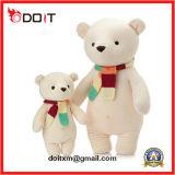 2 osos tradicionales rellenos Scarve del peluche del oso de los colores
