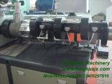 高品質PVCプロフィール円錐対ねじ倍ねじ放出の機械装置