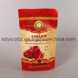 Levar in piedi in su il sacchetto di plastica a chiusura lampo per lo spuntino/il tè/la frutta secca