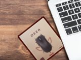 Nuovo rilievo di mouse di tendenza del tessuto del velluto della pelle scamosciata 2016