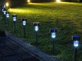 Lampada solare di plastica del prato inglese, indicatore luminoso solare del giardino del cortile esterno di illuminazione del LED