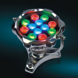 최신 판매 꽃 대를 가진 모양 수중 LED 연못 빛