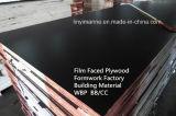Onder ogen gezien film/het Triplex die van de Bouw de Fabriek van /Formwork met WBP bouwen