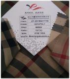 Polyester-Chiffon- gedrucktes Gewebe, Garn färbte Plaid