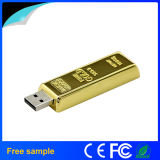 Atacado Bulk Golden Bar Metal USB Memory Stick USB 8GB