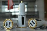Быстро поручающ быстро поручая заряжатель автомобиля USB сотового телефона заряжателя
