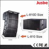 L-810 si raddoppiano riga completa bidirezionale altoparlante di frequenza 10-Inch 4-Unit di schiera