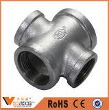 Instalación de tuberías galvanizada del hierro maleable de la buena calidad