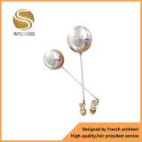 Válvula de esfera de bronze da flutuação do tipo de Intelsheng