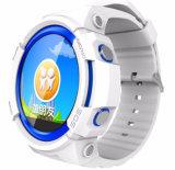 Ios Android GPS Smartwatch для малышей с счетчиком шага Wechat Sos сообщения голоса нот mp3 плэйер карточки SIM TF