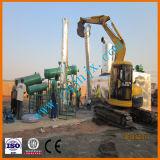 Raffineria di petrolio per la strumentazione residua di pirolisi dell'olio di motore