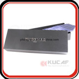 Rectángulo de empaquetado caliente de la pajarita del papel de la insignia de la hoja de la plata profesional de la fábrica