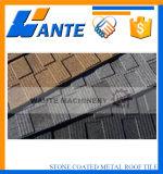 Tipo revestido azulejo de la ripia del metal de la piedra al por mayor de China de azotea