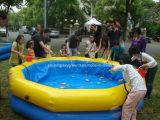 Парка воды замока игры малышей Rental бассеина напольного коммерчески раздувной