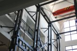 Ventana de perfil deslizante de aluminio con vidrio endurecido hueco (FT-W126)