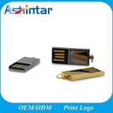 USB impermeable Pendrive del mini metal de alta velocidad del disco de destello