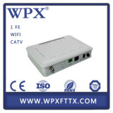 FTTH GPON avec 1GE + CATV Telecom Equipment