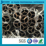 Perfil de alumínio personalizado da extrusão da tubulação 6063 redondos da câmara de ar