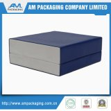 Коробка голубого подарка Paperboard упаковывая для вставки пусковой площадки Jewellry вахты