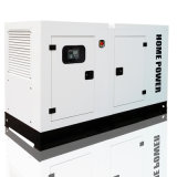 114kVA 50Hz schalldichter Dieselgenerator angeschalten von Cummins (SDG114DCS)