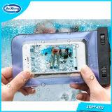 2017 iPhone及びSamsungのためのユニバーサル使用された防水袋の袋の水中携帯電話の箱カバー