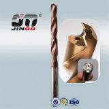 Broca longa do carboneto da flauta 8d com furo interno