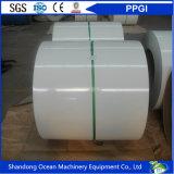 A alta qualidade Prepainted bobinas de aço galvanizadas/o aço revestido cor Coils/PPGI para materiais de telhadura