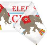 Le doppie bandiere parteggiate su ordinazione hanno stampato, verticale che appende le bandiere bilaterali del vinile