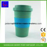 Cuvette de café en bambou de vaisselle de fibre d'Eco