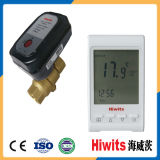Válvula electromagnética de la resistencia de agua del calor de la válvula de diafragma de Hiwits 12V