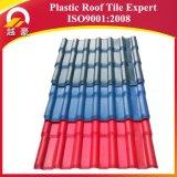 Folha plástica colorida PVC do telhado do ASA da isolação térmica