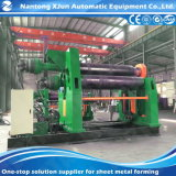 세륨 기준을%s 가진 기계 Mclw12CNC-50*3200 회전 기계를 형성하는 자동 구부리는 기계 4 롤러 롤