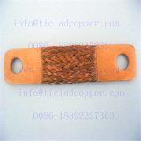 電気分解の電気めっきのための銅ホイルの柔らかい接続