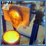 Silber-Stahl des Gold50kw, der mit Induktions-Heizung Furnance schmilzt
