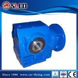 Serie-Getriebe 90 Grad-Antriebswelle-Getriebemotor-schraubenartiges Wurm-Getriebe-Laufwerk