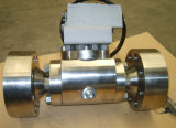 Pressuremetal élevé au robinet à tournant sphérique en métal