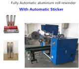 Rodillo Rewinder del papel de aluminio con la etiqueta engomada