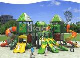 Спортивная площадка Kaiqi крупноразмерная напольная Platstic с Multi скольжениями и альпинистами