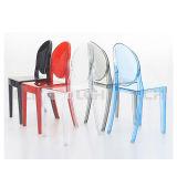 의자를 식사하는 현대 투명한 PC