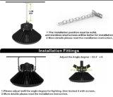 セリウムのRoHS IP66 100W UFO高い湾ライト