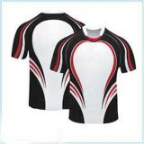 Secar camisas aptas do rugby do Sublimation 100%Polyester