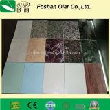 Panneau mural intérieur en céramique en fibre décorative (matériau de construction)