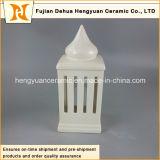 High-Rise Huis van uitstekende kwaliteit van de Houder van de Kaars van de Vorm het Ceramische