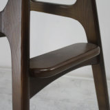 Solid Wood Leg를 가진 높은 Quality Wooden Furniture Bar Chair