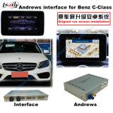 Поверхность стыка системы навигации GPS автомобиля Android видео- для Benz c, Cla, Clk, b, a, e, касания подъема Glc (NTG5.0), экрана бросания, Mirrorlink, HD 1080P, карты Google